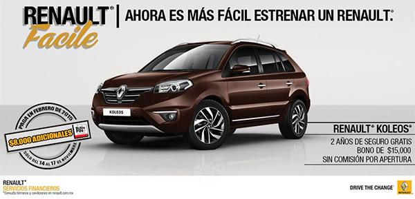 Renault Buen Fin 2014 Koleos