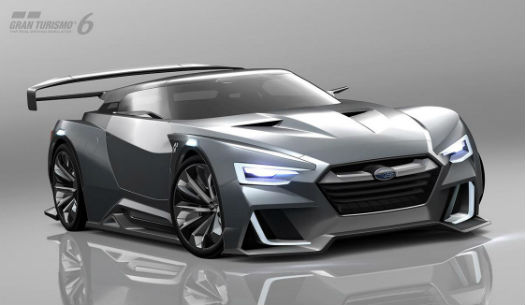 Subaru GT Vision Gran Turismo