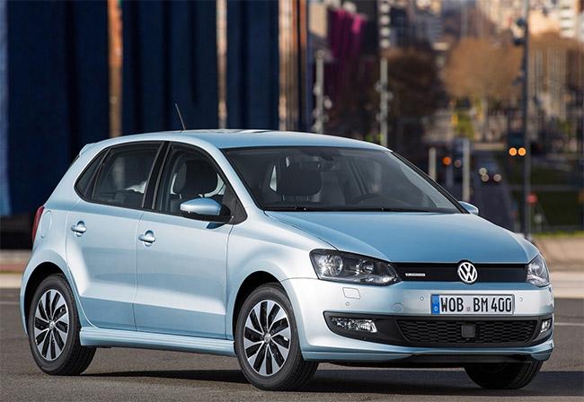 Volkswagen Polo 1.0 Bluemotion frente color plata