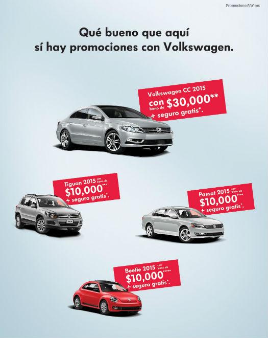 VW bonos para Buen Fin 2014