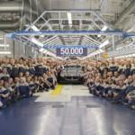 Maserati produce la unidad 50,000 en su planta de Grugliasco