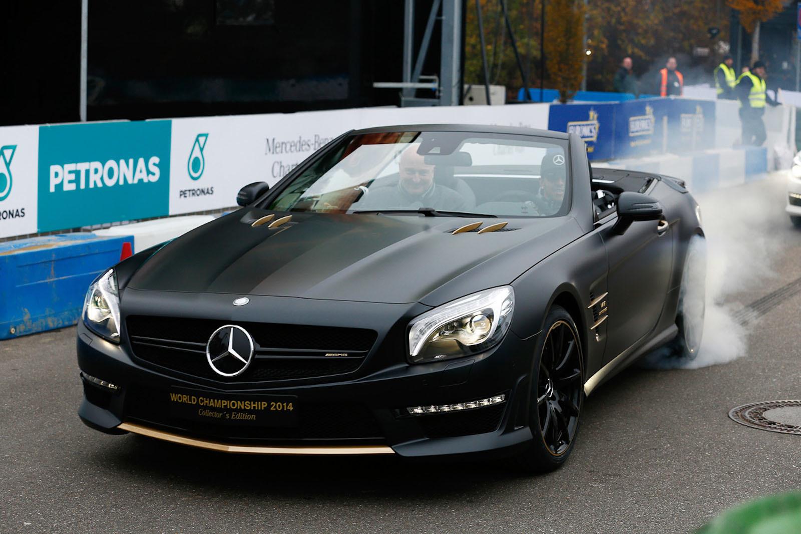 Mercedes SL63 AMG Championship 2014