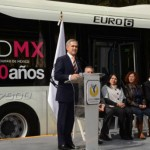 Metrobus biarticulado Distrito Federal