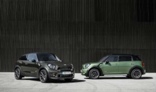 Mini Paceman y Mini Countryman 2015