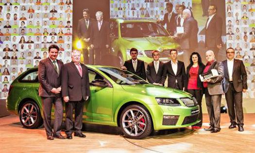 Skoda 1 millón de autos producidos