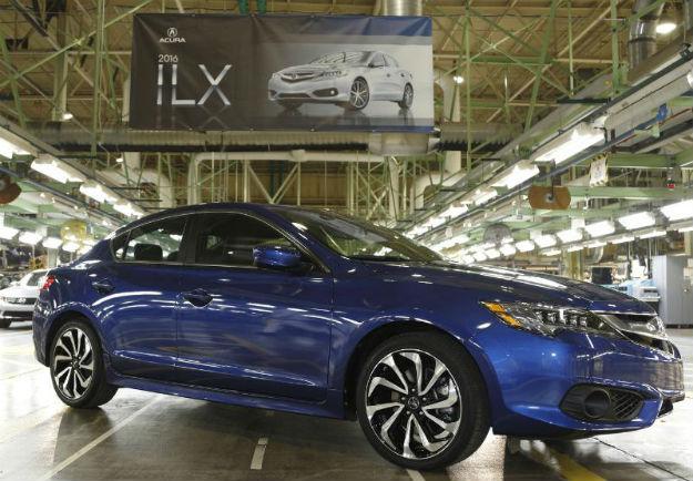 Acura ILX 2016 inicia producción