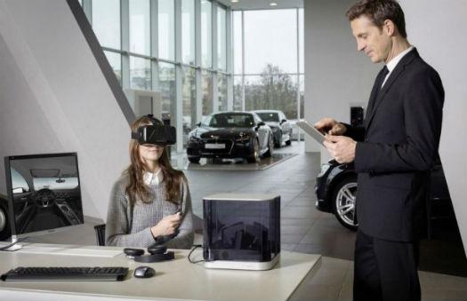 Audi Oculus Rift realidad virtual