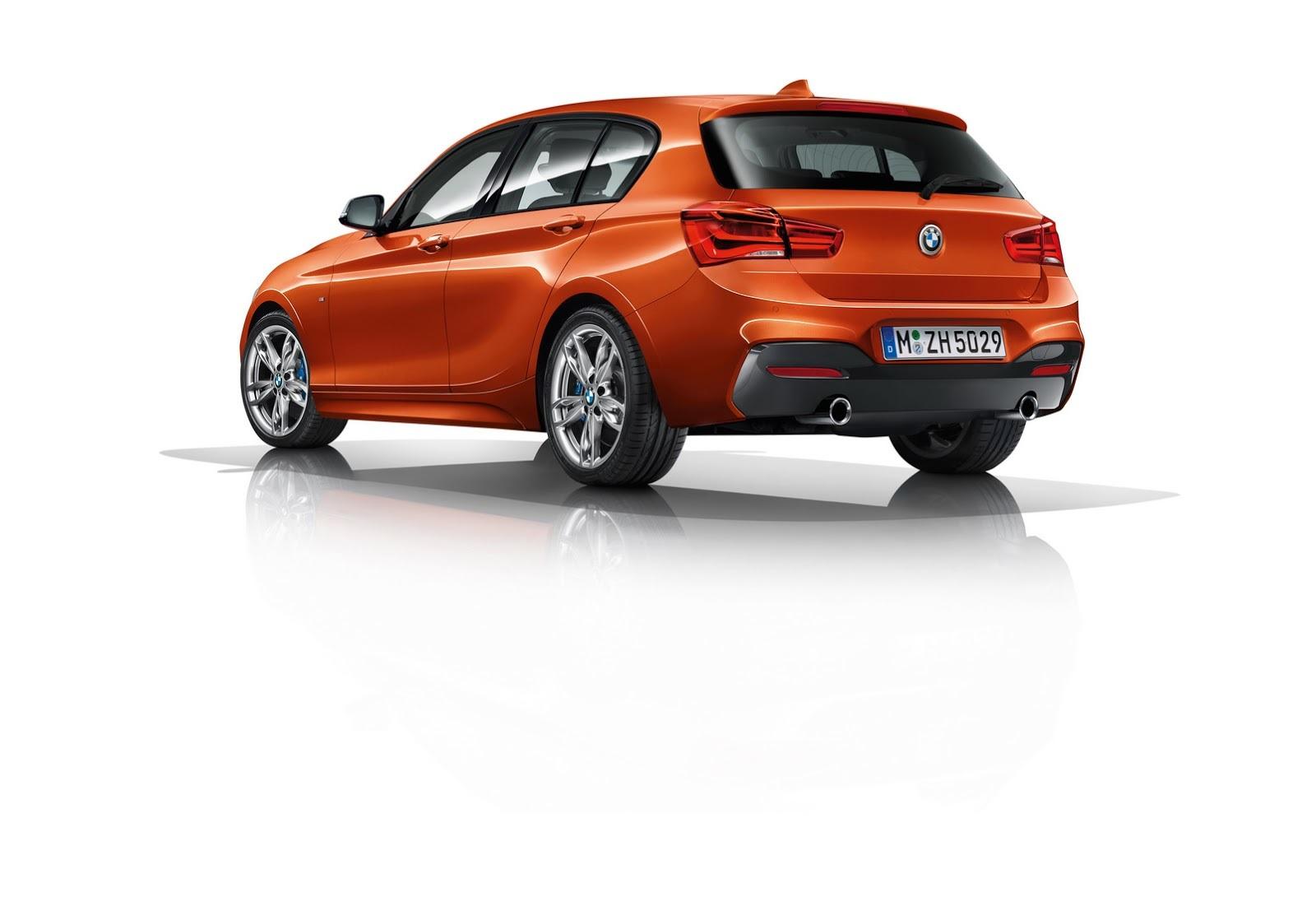 BMW M135i 2015 parte trasera con cambios