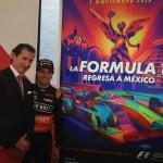 Checo Pérez en México