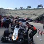 Checo Pérez y nuevo auto de Force India