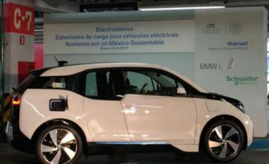 Estación de carga de autos electricos