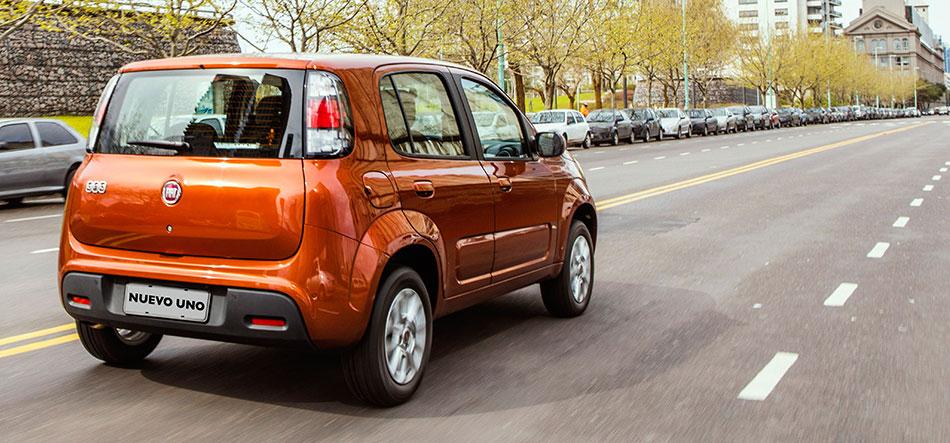 Fiat Uno 2015 en México