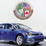 Volkswagen Golf es nombrado Coche del Año en Norteamérica en Salón de Detroit 2015