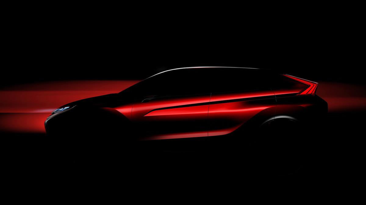 Mitsubishi Concepto teaser