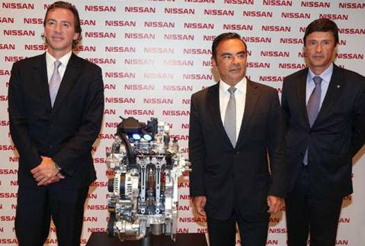 Nissan Motor de 3 cilindros