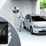 Volkswagen CES 2015 Digital key llave iPhone