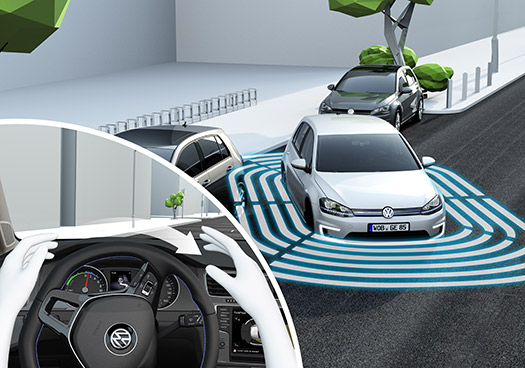 Volkswagen CES 2015 Golf Perfect Parking