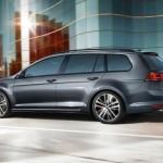 Volkswagen Golf GTD Variant 2015 parte trasera