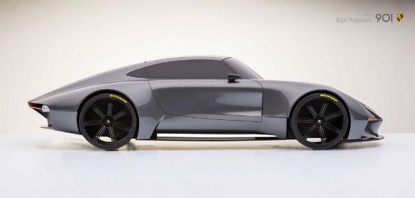 Porsche 901 Design Concept lateral