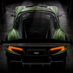Aston Martin Vulcan parte trasera