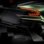Aston Martin Vulcan luces traseras