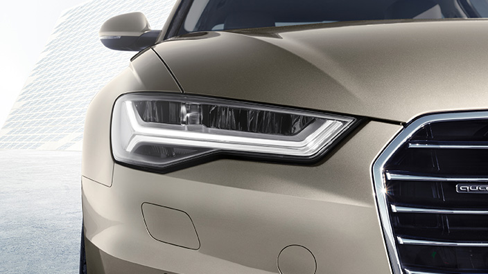 Audi A6 Sedán 2016 frente luces LED