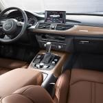 Audi A6 Sedán 2016 Interior con asientos de piel y pantalla touch