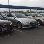 Audi A7 y A6 2016 en México