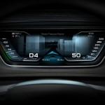 Audi Prologue Avant boceto, interior tacómetro