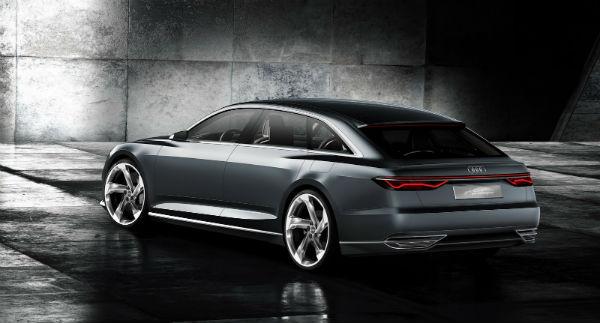 Audi Prologue Avant concept, prototipo Ginebra, vista trasera