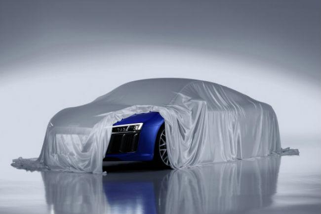 Audi R8 imagen teaser 2015