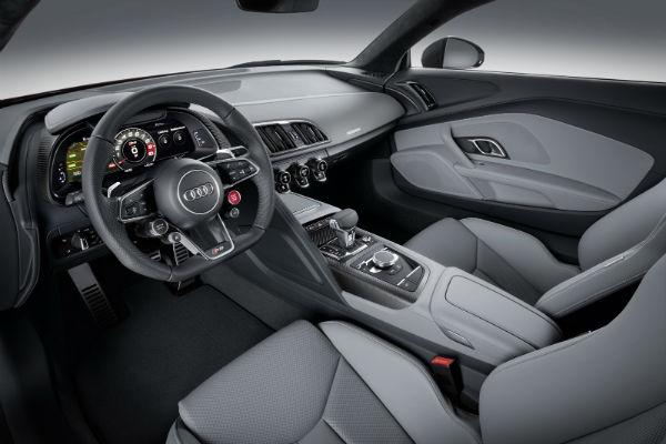 Audi R8 imágenes oficiales previo a Ginebra 2015, interior
