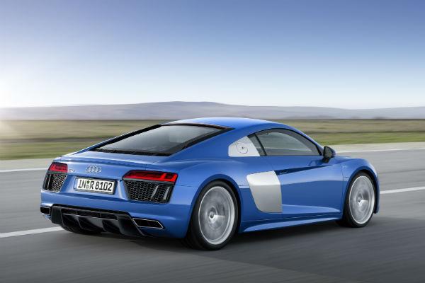 Audi R8 imágenes oficiales previo a Ginebra 2015, vista-trasera