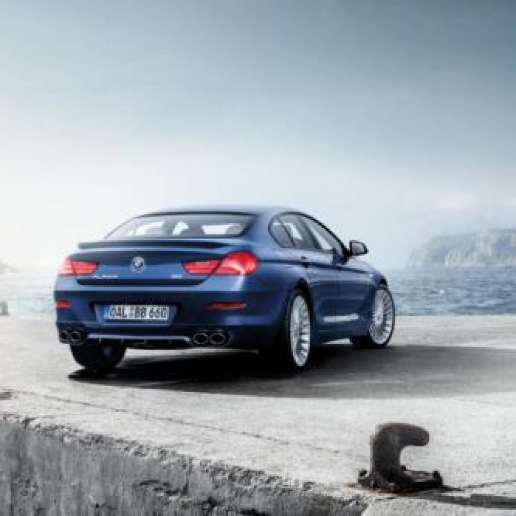 Bmw Xdrive Convertible: BMW Alpina B6 XDrive 2016 Gran Coupe Parte Trasera