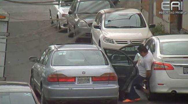 Intento de robo de autoparte en Puebla