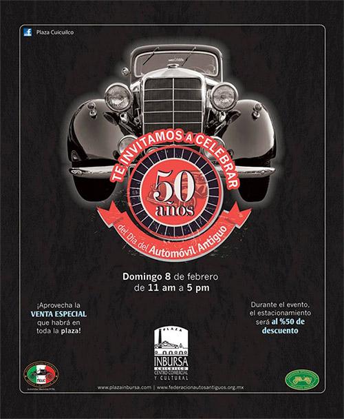 50 años del Día del Automóvil Antiguo