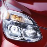 Chevrolet Equinox 2016 rediseñada faros delanteros