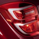 Chevrolet Equinox 2016 rediseñada faros traseros