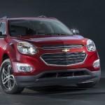 Chevrolet Equinox 2016 rediseñada frente