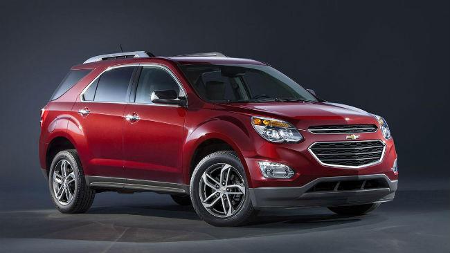 Chevrolet Equinox 2016 rediseñada.