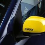 Fiat Panda K-Way espejos amarillos