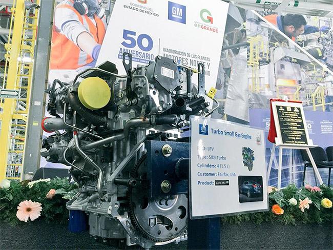 GM abre planta de motores y aluminio en Toluca 2015