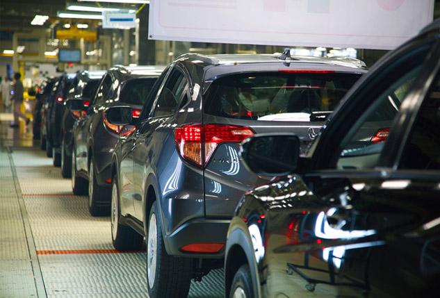 Honda HR-V inicio de producción en México, línea de salida
