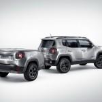 Jeep Renegade con remolque