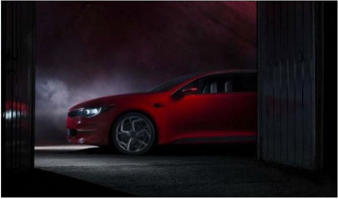 Kia Concept Car, imagen teaser