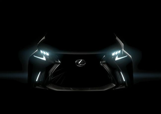 Lexus LF-SA Concept imagen teaser Ginebra 2015