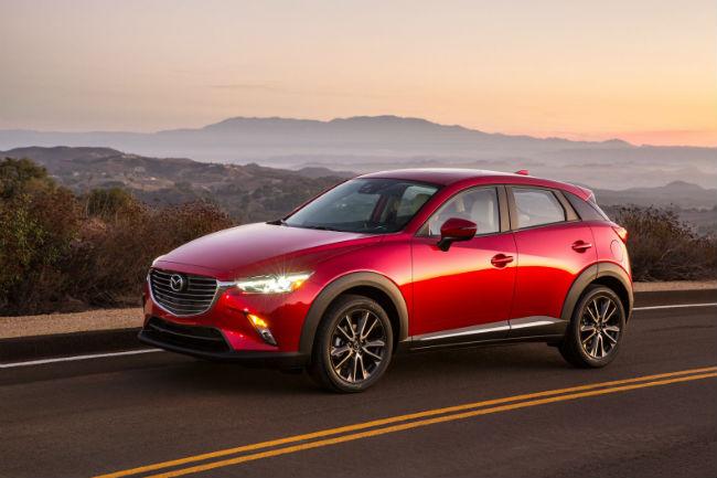 Mazda CX3 nuevo SUV de la marca