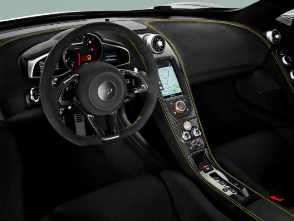 McLaren 650s Coupe, tablero.