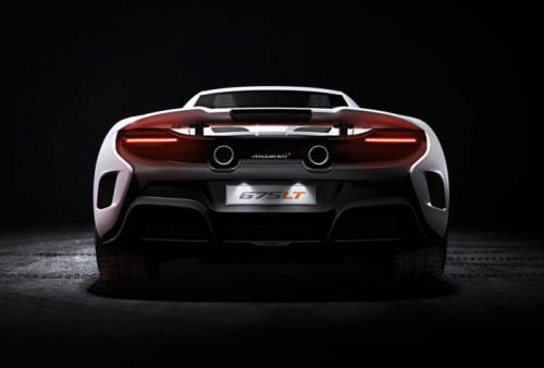 McLaren 675LT primeras imagenes, trasera