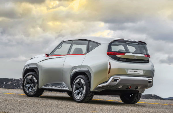 Mitsubishi GC-PHEV Concept, panorámica trasera
